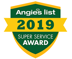 Angies LIst Super Service Award 2019 - Raleigh Carpet Cleaning